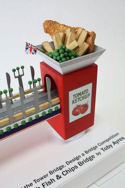 Fish and Chips bridge Tower bridge design a bridge winner