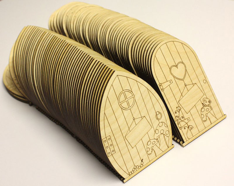 Laser-cut-fairy-doors