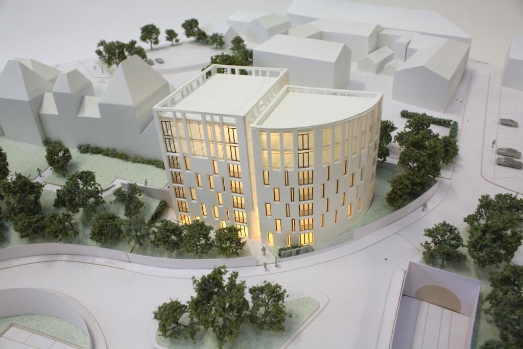1:200 scale architectural model