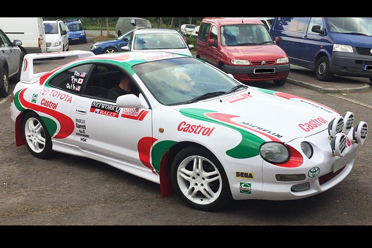 SEGA Rally Castrol Celica Banger Rally Car