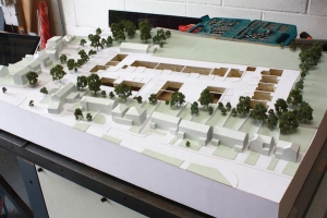 Architectural model base