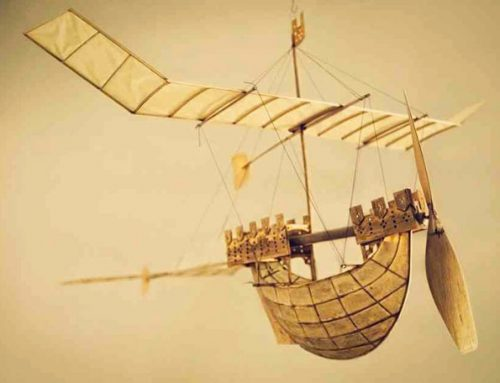 Flying model boats