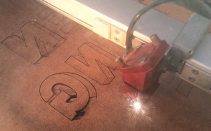 laser cutting hardboard