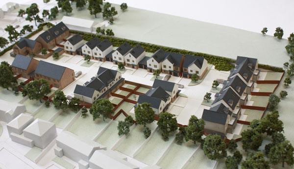 1:250 scale architectural model