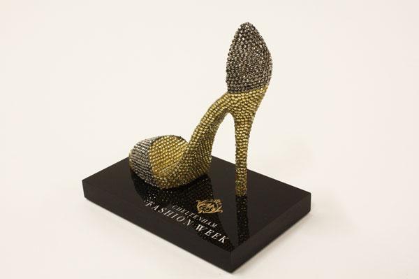 Cheltenham fashion week bespoke award prop