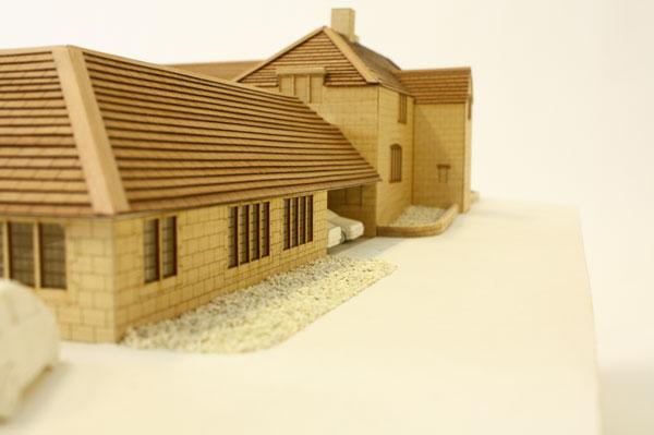 1:75 scale architectural model
