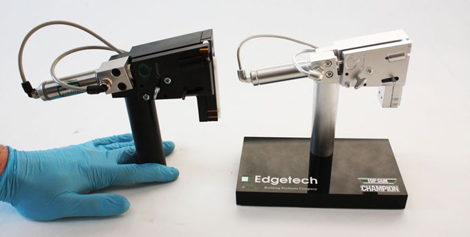 Bespoke custom award for Edgetech