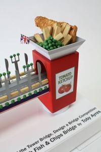 Fish and Chips bridge Tower bridge design a bridge winner