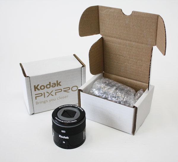 Kodak lens paperweight prop maker
