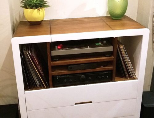 Record player unit