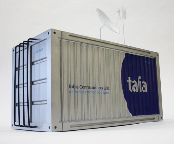 Industrial Model prop talia communication unit