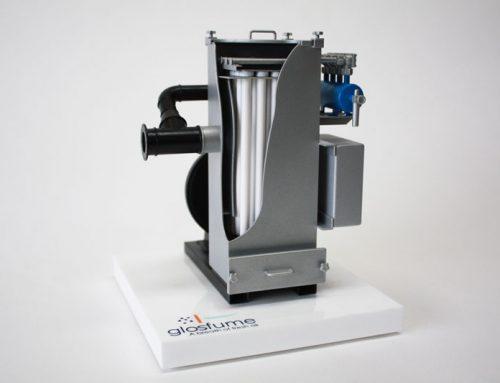 3d printed industrial model