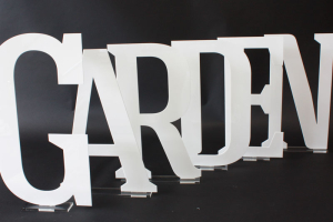 laser cut letters