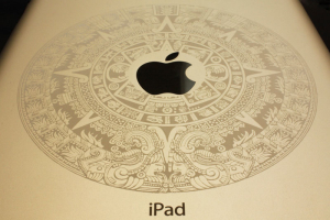 laser engraved ipad