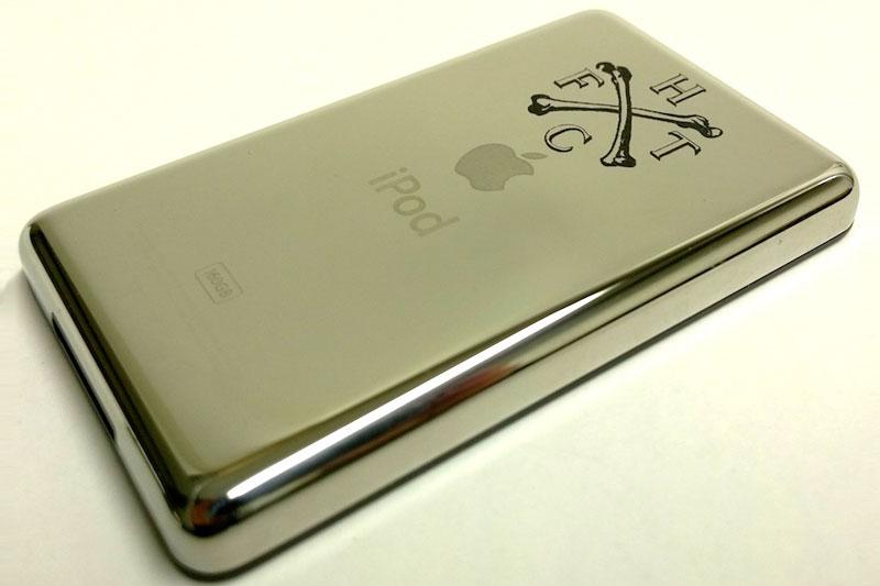 laser engraved ipod