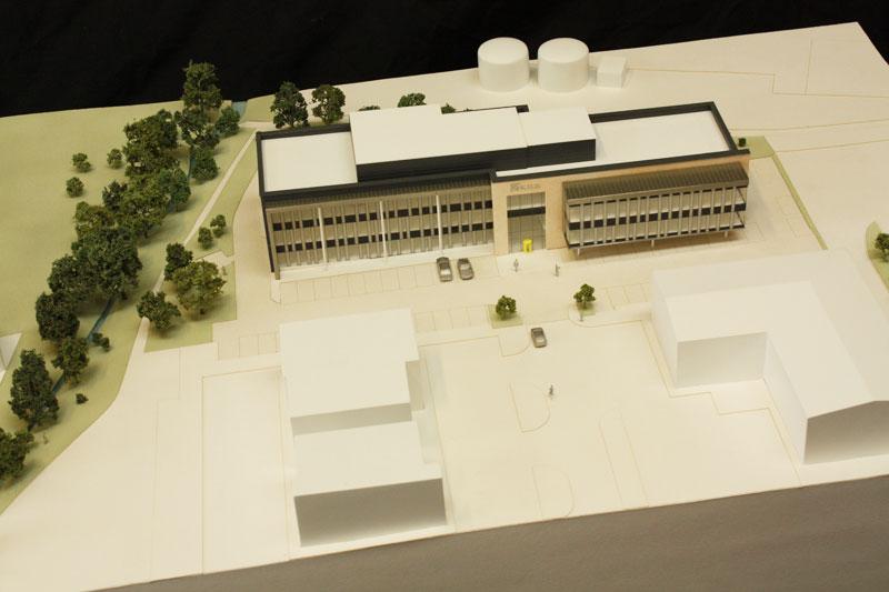 kier moss architectural model artisan model makers