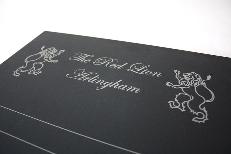 Engraved slate game