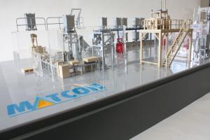 Industrial Scale Model Factory floor