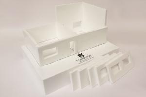 3D modular house model