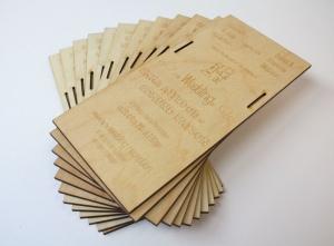 Ply wedding invitations