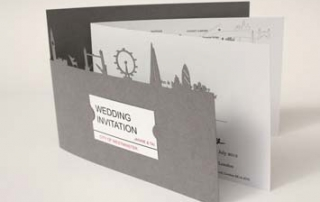 Card wedding invitation