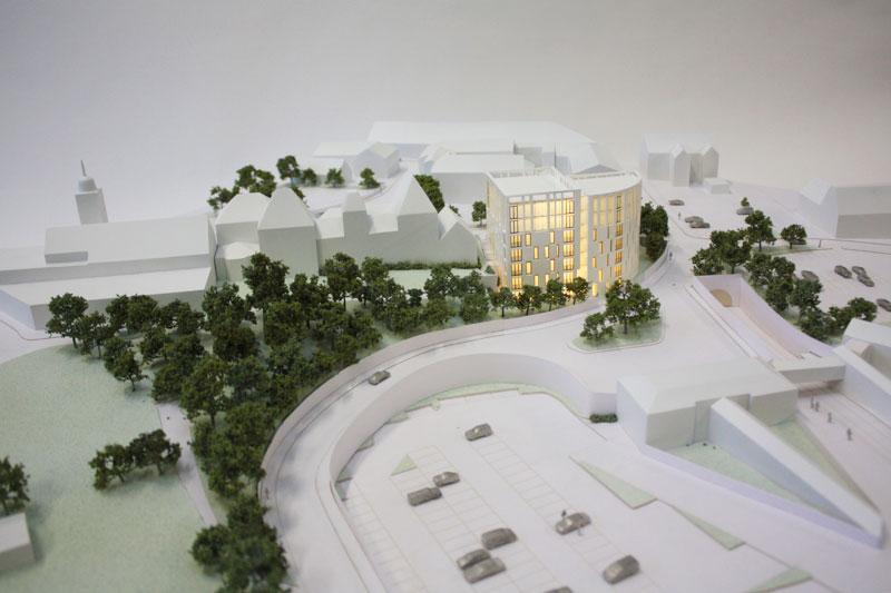 Architectural Model Sutton Coldfield