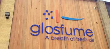 glosfume laser cut sign
