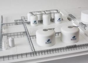 Industrial Model Refinery Blue Oil THUMBNAIL