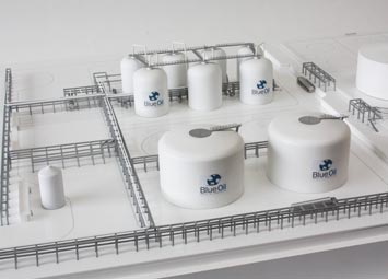 Industrial Model Refinery Blue Oil THUMBNAIL