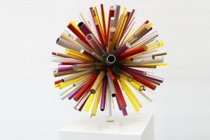 Multi material bespoke awards for Shell Ideas 360