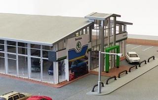 Skoda dealership model