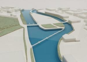 Architectural master plan model