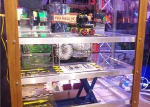 multi layered robot maze prop