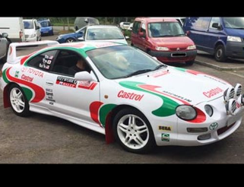 Sega Rally Car (Castrol Celica)