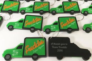 Freddie Fries Again tv show corporate gifts.