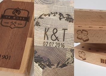 Engraved and personaised wood products. Bespoke and beautiful