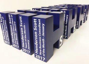 Bespoke annual business awards