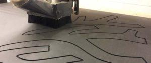 Flat cut 2d CNC machining
