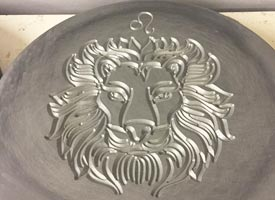 CNC engraving services milled composite