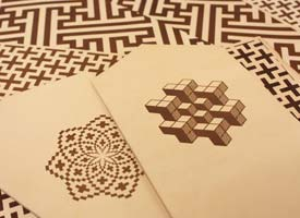 laser engraved leather for crafting