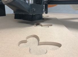 CNC cutting MDF cut to size
