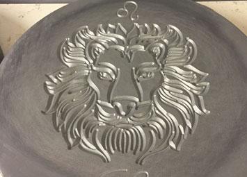 CNC milled resin master