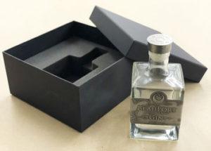 Milled foam for Beaufort gin