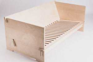 Plywood furniture, cnc cut from 18mm plywood