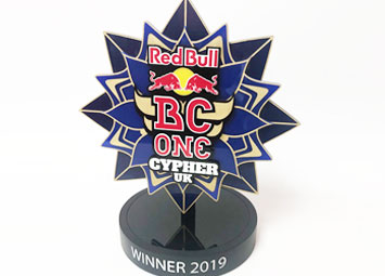 Bespoke award for Redbull BC One UK