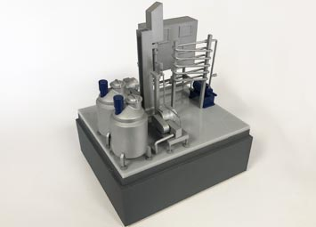 Industrial scale model