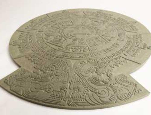 Aztec calendar prop