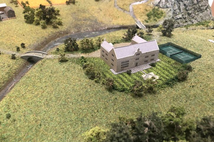 Landscape model details
