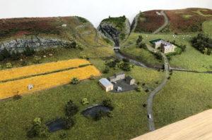 Landscape model for tradeshows