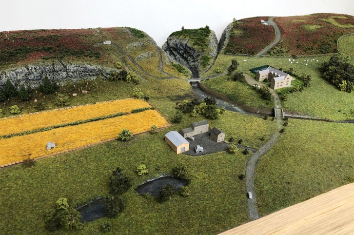 Landscape model for tradeshows